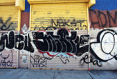(Into Space!) Tags: city urban ny newyork streets smart brooklyn graffiti dr msk graff marty throw vins bk fill nev nekst fillin throwie drast intospace smartcrew