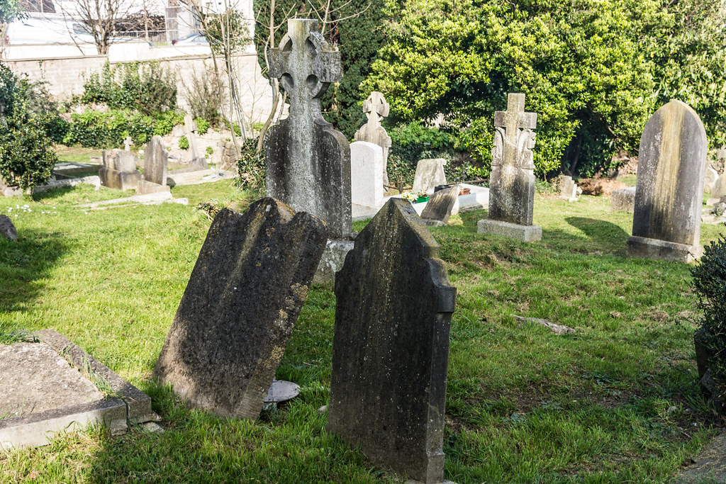 St. Nahi's  Is An 18th-century Church And Graveyard in Dundrum