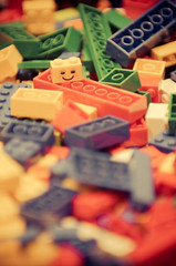 seventy six (dailyweekley) Tags: colors legos happyface childhoodtoys