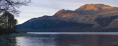 Light the hills (Elamcelt) Tags: scotland benlomond lochlomond theptarmiganridge