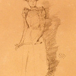 "<b>Gants de Suede</b><br/> James McNeill Whistler (1834-1903) ""Gants de Suede"" Lithograph, 1890 LFAC #1997:08:42<a href=""http://farm8.static.flickr.com/7067/6852457945_02d447e798_o.jpg"" title=""High res"">∝</a>"
