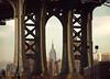 (BRIDGE) Five views of the Empire State Building 1/5 (Alberto Sen (www.albertosen.es)) Tags: new york bridge building brooklyn puente state manhattan alberto empire nueva sen estados eeuu unidos albertorg albertosen