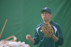 DSC_1361 (mechiko) Tags: 120205 横浜ベイスターズ 内藤雄太 横浜denaベイスターズ 2012春季キャンプ
