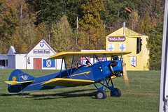 Old Rhinebeck Aerodrome, Rhinebeck NY (dkjphoto) Tags: travel usa newyork tourism museum airplane fly flying airport tour antique aviation country flight tourist northamerica rhinebeck aerodrome oldrhinebeckaerodrome dennisjohnson fleetfinch wwwdenniskjohnsoncom