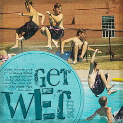 Get Wet! (kelly.buss) Tags: scrapbook jacob load16 load22012