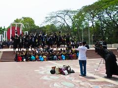 Convocation II (Nidal Adnan) Tags: smile jump joy graduation du laugh cheer convocation decisivemoment dhakauniversity শহীদমিনার