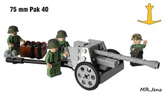 75 mm Pak 40 WWII LEGO (MR. Jens) Tags: world two germany war lego wwii german ww2 40 mm division 75 20th pak wehrmacht panzergrenadier