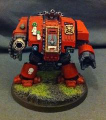 Furioso Dreadnought (rob_loken) Tags: marines gamesworkshop