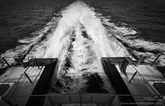 Wake (Evan Gearing (Evan's Expo)) Tags: blackandwhite bw water ferry ma boat nikon wake ship massachusetts sigma vessel nantucket nik 1020 massachussetts d300s silverefex evangearingphotography evansexpo