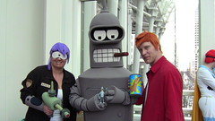 Big Bender, Little Bender (Q. Q. Kachoo) Tags: cosplay futurama bender leela emeraldcitycomiccon philipjfry benderbendingrodriguez