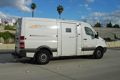 Sectran (So Cal Metro) Tags: money mercedes transport mercedesbenz dodge van currency armoredcar sprinter armoredtruck armoredtransport sectran