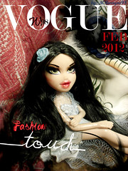 """VOGUE by W.98"" February issue features Melina Bergeron (MRwayne98) Tags: forever bratz diamondz sharidan"