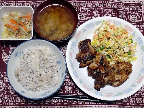 2012年2月18日の晩ご飯