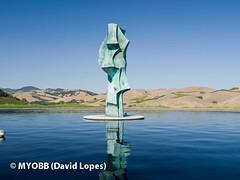 Napa 2010-113681 (myobb (David Lopes)) Tags: california sculpture vineyard wine olympus winery grapes napavalley artesa e510 evolte510