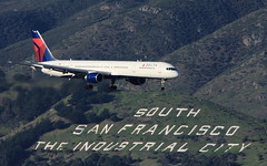 Delta (N584NW) (A Sutanto) Tags: california ca airport san francisco sfo south delta international boeing airlines bruno dl 757 ksfo b757 n854nw