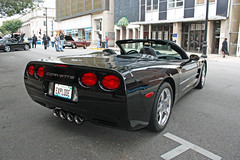 2003 Chevrolet Corvette Convertible (3 of 4) (myoldpostcards) Tags: auto 2003 cars chevrolet car illinois route66 automobile gm tail convertible il international chevy topdown springfield autos corvette 5th generation vette taillights taillight owner c5 dwyer sportscar rearend fifth 2010 backend generalmotors owners 2door highperformance motorvehicle collectiblecar 2seat worldcars twoseat motherroadfestival myoldpostcards vonliski 9242610 september24262010 randydwyer patsydwyer