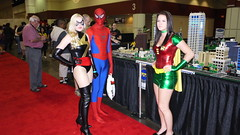 Picture 170 (BigMoneyBruce) Tags: black robin female cosplay spiderman megacon 2012 canry