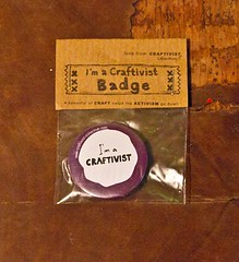 Buy our products to support our work and expand in the future- please (craftivist collective) Tags: streetart crossstitch craft buy kits products badges sell collective guerrilla craftivism craftivist craftivistcollective