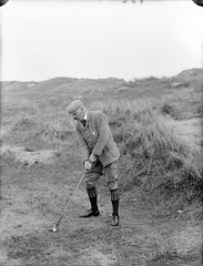 April 15, 1901 (National Library of Ireland on The Commons) Tags: ireland sports socks golf dunes moustache cap doctor golfing april monday 15th waterford golfball munster tweed 1900s glassnegative tramore golfclub 1901 plusfours nationallibraryofireland tramoregolfclub ahpoole gallwey poolecollection arthurhenripoole pgallwey pjgallwey patrickgallwey patrickjosephgallwey