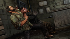 The Last of Us - Joel grappling