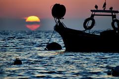 Spirit of the sea (Sante sea) Tags: sunset sea italy sun roma italia tramonto mare sole marino sante civitavecchia santagostino