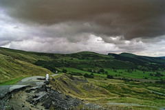 Insignificance. (sidibousaid60) Tags: nature landscape small hills ridge figure darksky mamtor insignificant