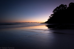 Dawn 2 (Dylan Farrow) Tags: longexposure morning blue newzealand sunrise dark landscape dawn purple pixelpost flickrpost whangapoua 60d
