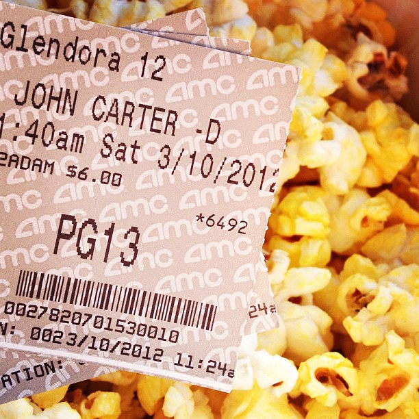 Saw JOHN CARTER - Family #Movie Day #Disney Anyone else see it? What did you think?