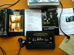 "Seoul Korea rare cassette soundtrack Ennio Morricone ""Once Upon a Time in America"" on BMG Restless label (moreska) Tags: music film sergio vintage shopping souvenirs graphics junk asia walkman culture korea pop retro nostalgia seoul unusual analogue 1980s fonts leone cheap rare cheesy keepsakes cassettes 1990s collectibles rok audiocassette ennio morricone scores soundtracks audiotape onceuponatimeinamerica chintzy audiophiles"