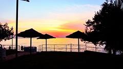 Brulo Beach (sgabardi) Tags: sunset postprocessed processed sunray porec iphone camplus cameraplus