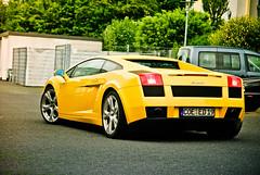 Lamborghini Gallardo (D.LOS) Tags: yellow speed germany photography nikon 4wd automotive ferrari 1855mm audi lamborghini dortmund supercar v10 gallardo lambo d40x