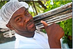 Beach Hut  Chef (Judy Gayle) Tags: antigua chef elementsorganizer