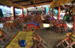 Awaiting the Noon Time Crowd (Ken Yuel) Tags: mexico corona beaches surfboards pacifico sayulita fishingvillages sayulitamexico negromodello digitalagent kenyuel surfingtowns bohemiantowns mexicanseasidetowns
