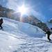 Dave Silver & Jeff Reimer on Glacier Periades