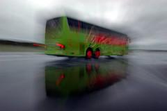Sicherheitstraining Bus Lausitzring - Bremsen auf nasser Fahrbahn IV