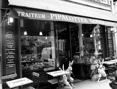 paris (. Panda) Tags: bw paris france bunny love panda iloveyou rabbits boulangerie pattisserie coffeesauce pipalottes