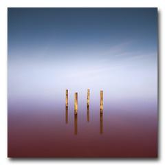 (jose.singla) Tags: sky españa costa seascape color water canon landscape coast spain agua sigma paisaje minimal cielo poles minimalismo reflexions 1020 palos 50d josesingla joseantoniogimenez