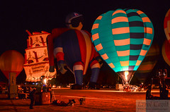 Night Glow Waikato (errolgc) Tags: birthday newzealand balloon hamilton 150th universityofwaikato lindstrandlblcaken122fphamilton richardsonrocketman110n129llrocketman balloonsoverwaikato2014 nightglow2014