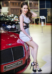 (seua_yai) Tags: people cute sexy cars beautiful fashion promotion thailand women asia southeastasia bangkok models motorcycles autoshow thai lovely branding carshow motorshow thaipeople thaigirl thaiwomen thailady bangkokgirl impactmuangthongthani promogals the34thbangkokinternationalmotorshow
