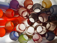 Stro,, (lafur Ingi) Tags: blue light orange black green yellow purple pipes pipe ring rings stro