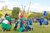 [2014-04-19@17.13.23a] (Untempered Photography) Tags: horse history animal costume flag medieval weapon lance knight tor combat joust armour reenactment jousting combatant chainmail lists glastonburytor canonef50mmf14 perioddress platearmour theknightsofthedamned mailarmour untemperedeye canoneos5dmkiii untemperedeyephotography glastonburymedievalfayre2014