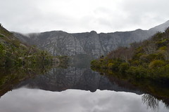 Reflections Crater Lake (dracophylla) Tags: tasmania craterlake cradlemountainlakestclairnationalpark