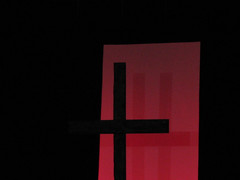 Behind The Cross (Callum Colville's Lothian Buses) Tags: red blood cross nail jesus shaddow