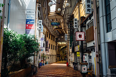 Yanagase_04 (Sakak_Flickr) Tags: gifu nokton shoppingarcade shotengai yanagase nokton35f14