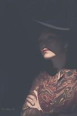 Noon (Photo Alan) Tags: shadow people woman sun canada hat sunshine vancouver nikon noon shadowplay sigma50mmf14 nikond810