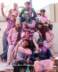 Barsana Nandgaon Lathmar Holi Low res (18 of 136) (Sanjukta Basu) Tags: holi festivalofcolour india lathmarholi barsana nandgaon radhakrishna colours