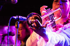 Th Wimmins' Institute (redrospective) Tags: people music london closeup costume concert eyes hands live gig perspective trumpet pirate unusual instruments brass 2016 thelexington april2016 20160430 wimminsinstitute