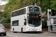 32555 SF54OSV First Glasgow (busmanscotland) Tags: wedding white bus eclipse volvo glasgow first wright fleet gemini osv 32555 b7tl sf54 sf54osv