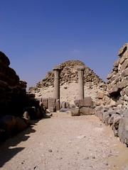 Abusir, Sahure Pyramid Complex (dr.heatherleemccarthy) Tags: cemetery temple ancient pyramid tomb egypt abusir necropolis sahure