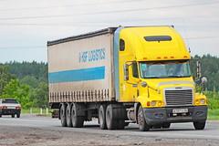 Freightliner Centuri Class   137  22 (RUS) (zauralec) Tags: kurgancity therouter254irtysh freightliner centuri class  137  22 rus